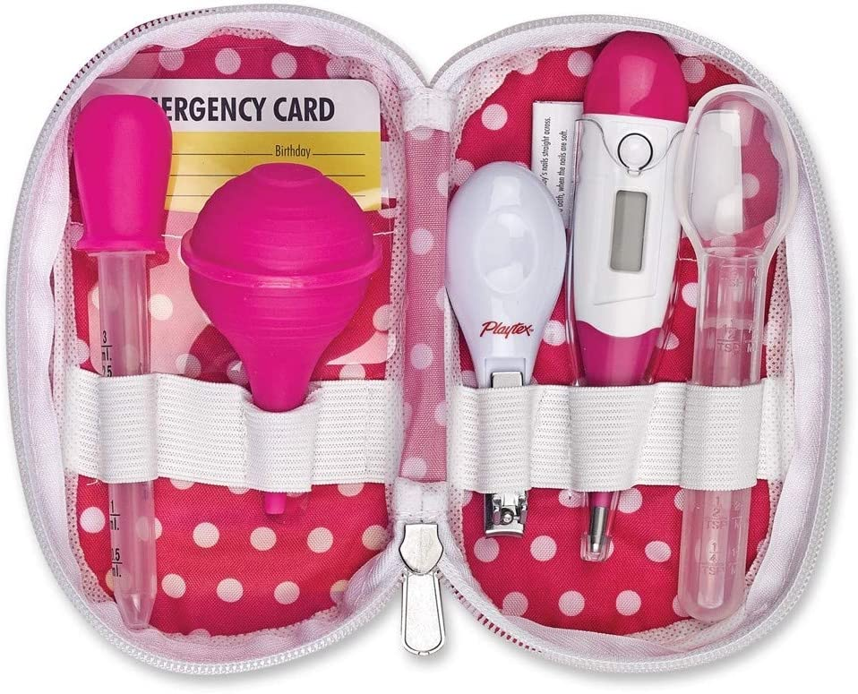 Playtex Baby 6 Piece Healthcare Kit, Pink, One Size