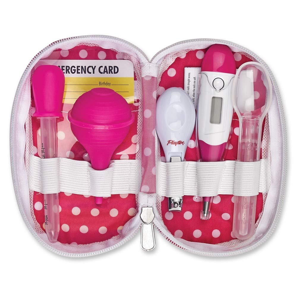 Playtex Baby 6 Piece Healthcare Kit One Size Pink