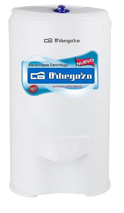 Orbegozo SC 4600 - Centrifugadora de ropa, tambor de acero inoxidable, 5,2