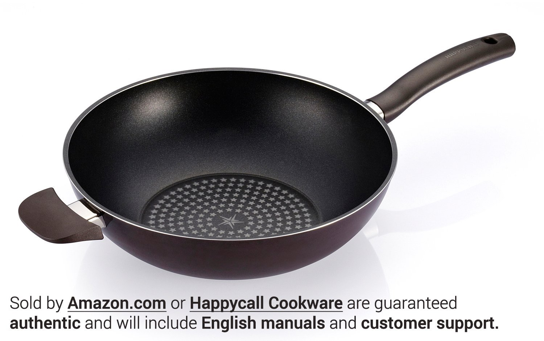 Happycall Diamond Frying Wok Black 11 3001-0005 11