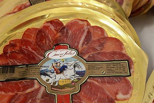 Degustación XL embutidos Ibéricos de Bellota Cinco Soles: Amazon.es: Alimentación y bebidas