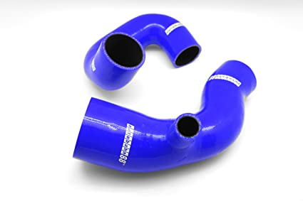 Autobahn88 Intercooler Silicone Hose Kit for 1989 Lancia Delta Integrale 2.0L 16V turbocharger (Blue