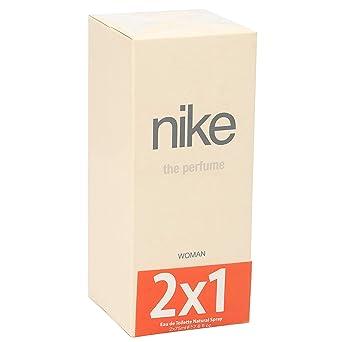 crimen Tendencia Gran roble  NIKE colonia the perfume woman spray 2 x 75 ml: Amazon.es