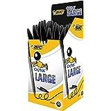 BIC Cristal Large Ballpoint Pens Black 50 Box