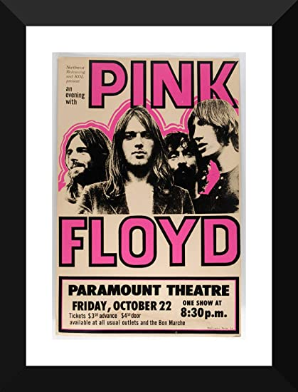 58ea5572 Tallenge - Pink Floyd - Tallenge Music Retro Concert Vintage Poster  Collection - Small Poster Paper - Framed (12 x 17 inches): Amazon.in: Home  & Kitchen