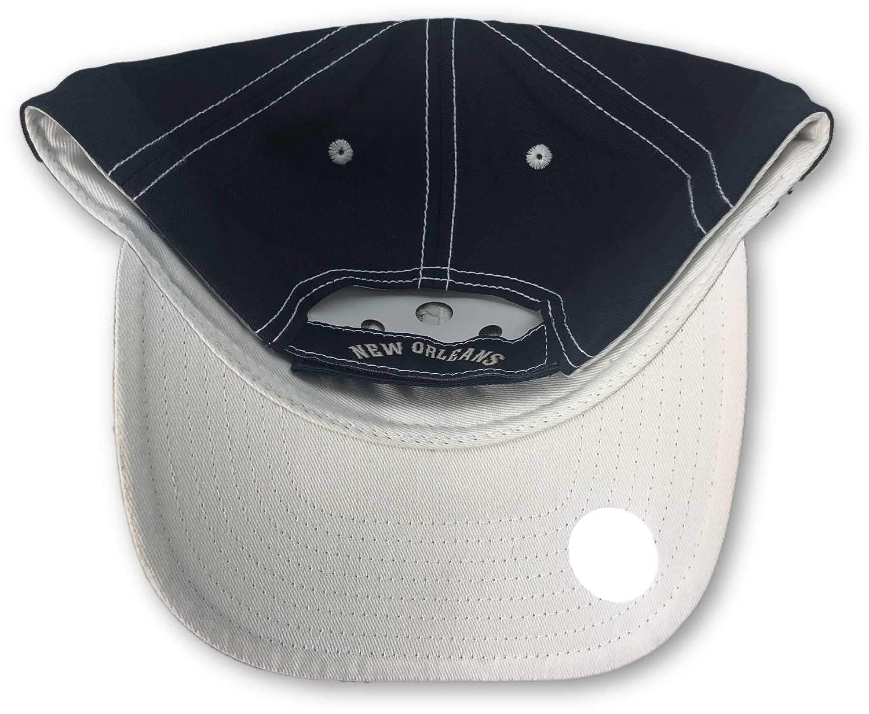 New Orleans Pelicans Structured Adjustable Hat Black