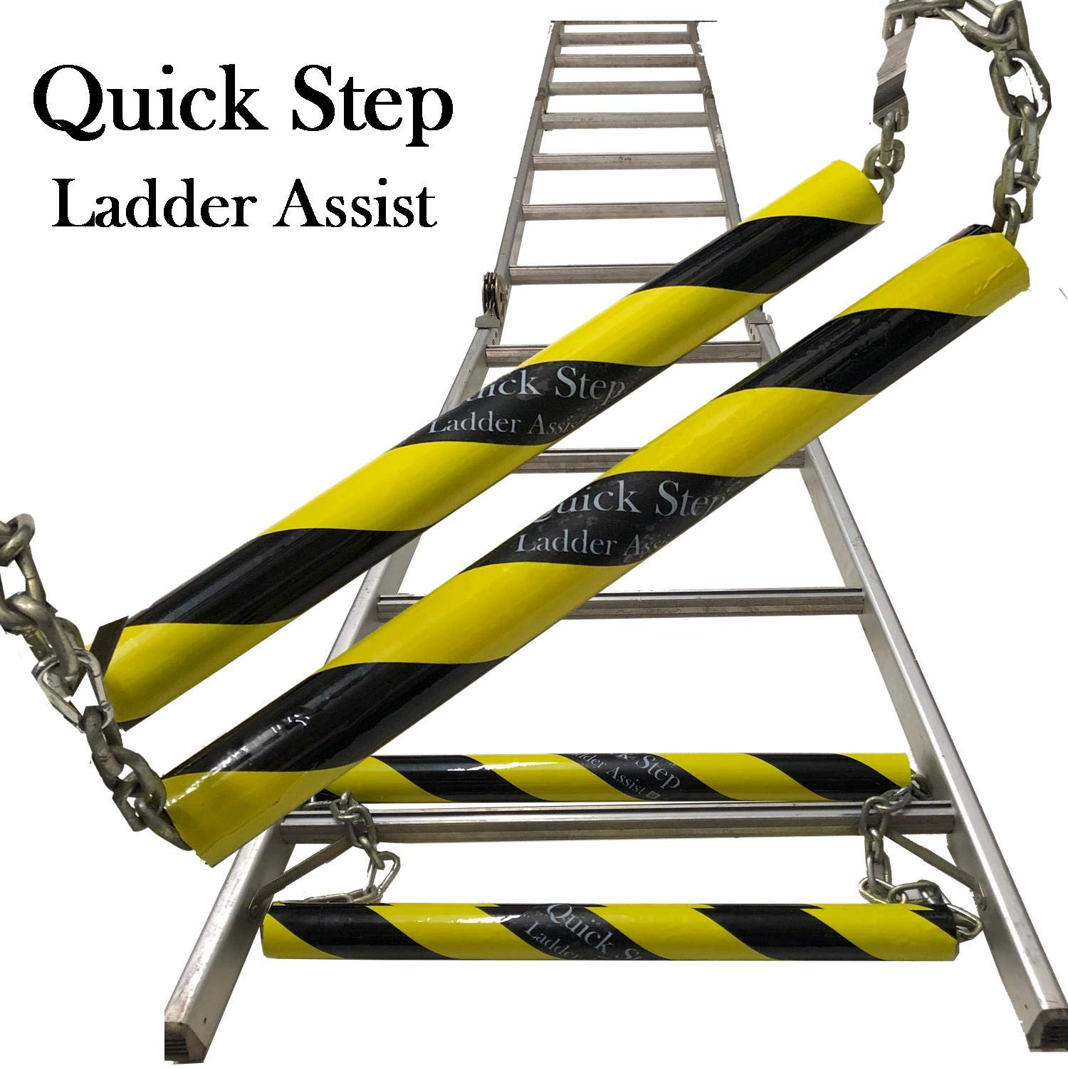 Quick Step Ladder Assist ~Put Up Your Extension Ladder Fast & Easy Like A Professional Multi Use Portable Ladder Folding Ladder