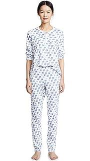 09bb6de1a2 Roller Rabbit Women s Love Bug Polo Pajamas at Amazon Women s ...