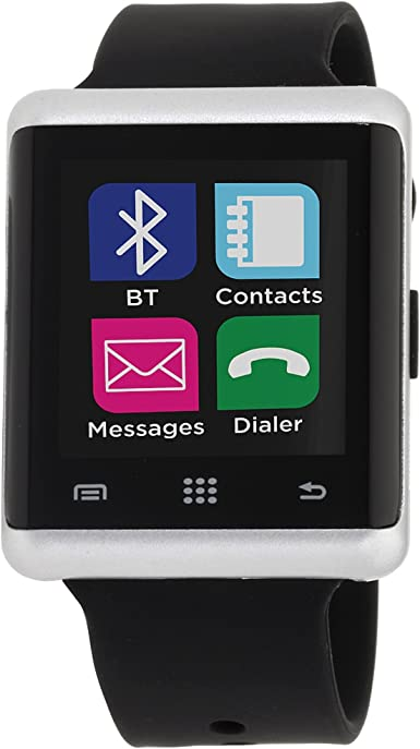 I-Touch Air Smart Watch - Pantalla Bluetooth con podómetro para Samsung Galaxy Android Apple iPhone iOS Google Nexus Smartphone: Amazon.es: Hogar