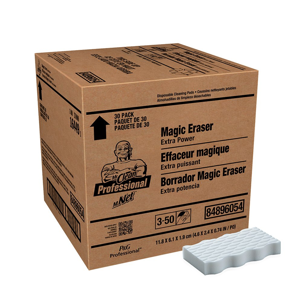 Mr. Clean Professional Magic Eraser Extra Power Cleaning Pads (Case of 30)