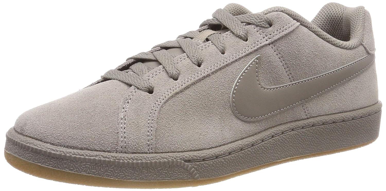 Nike Court Royale Suede, Zapatillas de Deporte para Hombre 43 EU|Gris (Light Taupe/Light Taupe-gum Light Brown 202)