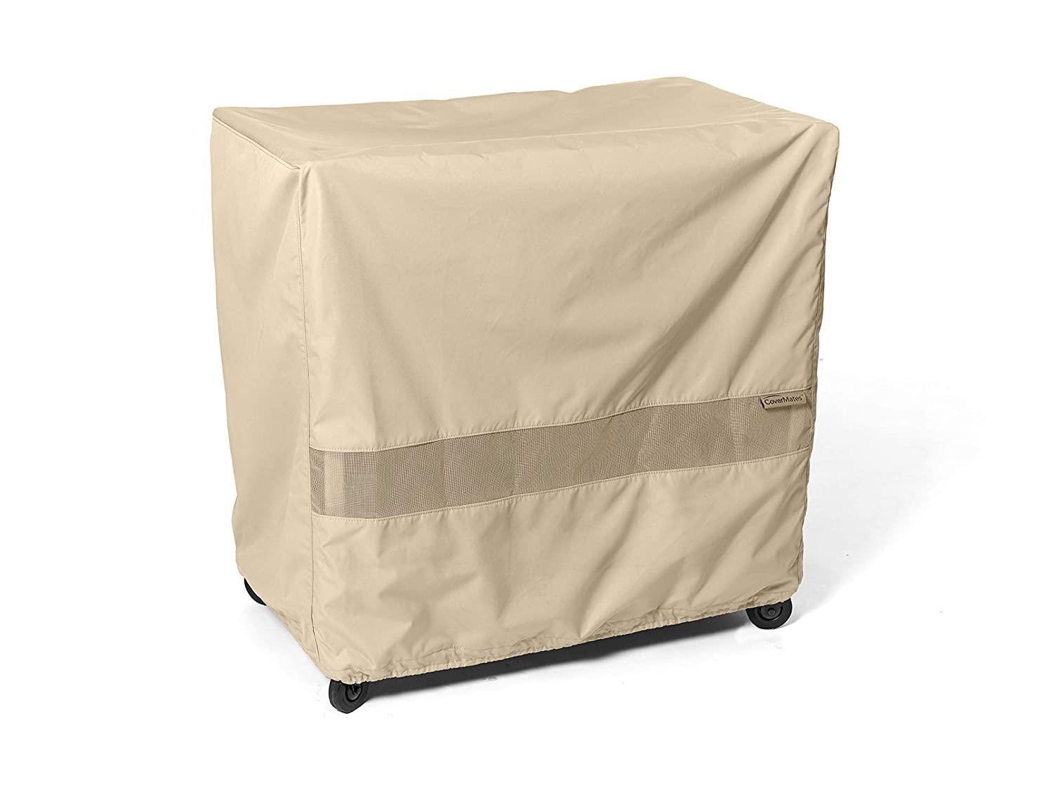 Amazon com covermates serving cart cover 50w x 30d x 34h elite collection 3 yr warranty year around protection khaki patio furniture set