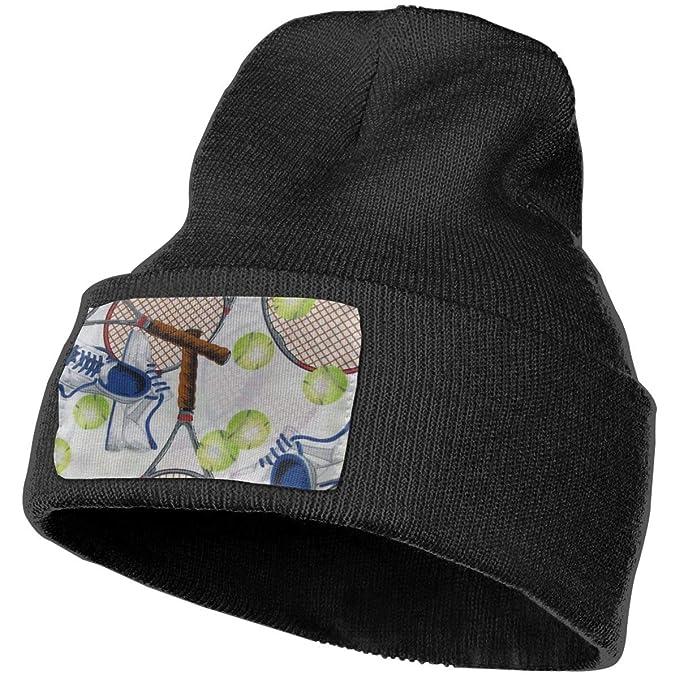 Amazon.com  LIUYhat Tennis Winter Beanie Hat Soft   Warm Chunky ... a98fb4c3545