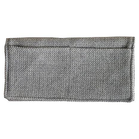 Moonlove - Organizador de sofá con reposabrazos de algodón y cáñamo, para Colgar o Colgar en el Coche, 47 x 31 cm, para Mando a Distancia de TV, ...