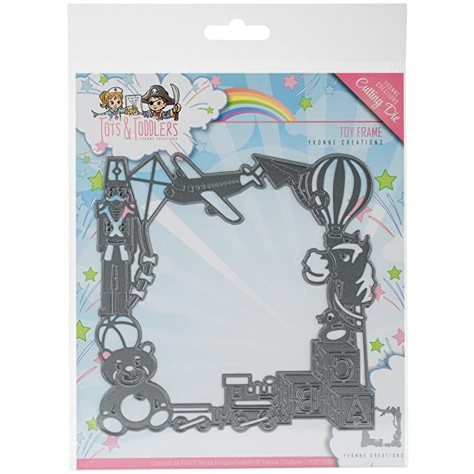 Find It Trading Yvonne Creations Tots & Toddlers Die-Toy Frame ...