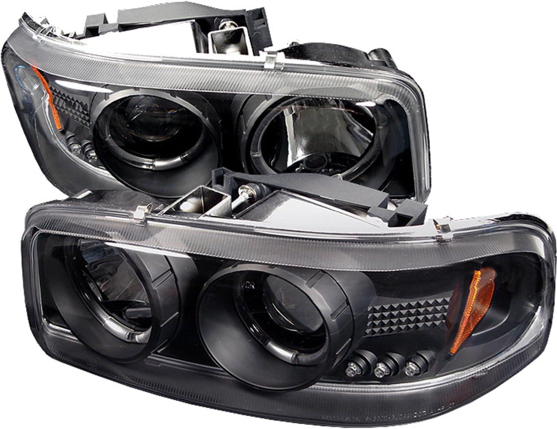Amazon.com: Spyder Auto PRO-YD-CDE00-HL-BK GMC Sierra 1500/2500/3500, GMC  Sierra Denali/GMC Yukon/Yukon Denali/Yukon XL Black Projector Headlight:  AutomotiveAmazon.com