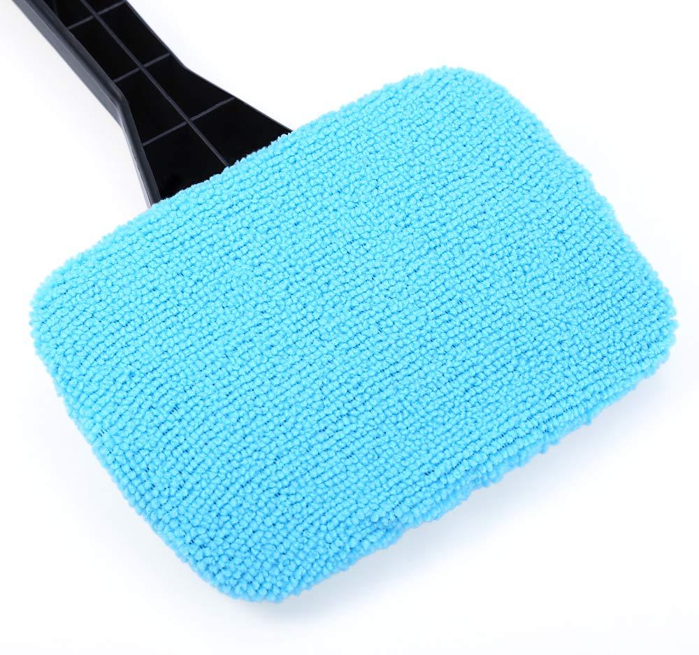 Bleu TrifyCore T20132/Pare-Brise Nettoyage Rapide et Facile /à Brillance Pratique de Voiture Automatique dessuie-Glace Vitre en Verre Brosse de Nettoyage