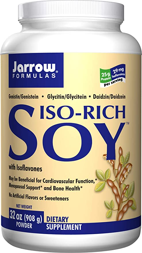 Jarrow Formulas iso proteína de soja rica aislar polvo 2 ...