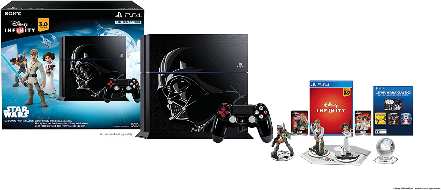 PlayStation 4 Limited Edition Disney Infinity 3.0 STAR WARS 500GB Bundle PS4