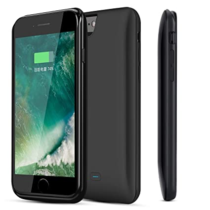 size 40 f8a58 25875 RUNSY iPhone 7 Battery Case, 5200mAh Rechargeable Extended Battery Charging  Case for iPhone 7 (4.7 inch), External Battery Charger Case, Backup Power  ...