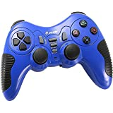 Wireless Controller Game Pad Joystick Gamepad Dual Vibration Double Controllers Turbo Clear and Auto Function with free CD fo
