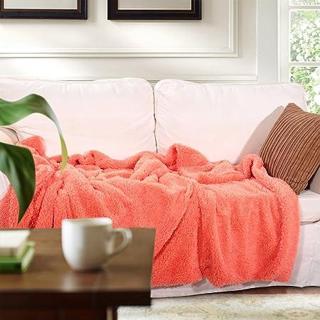 Zengai Blanket Throw Sofa Quilt Shawl Button Towel Chair Mattress