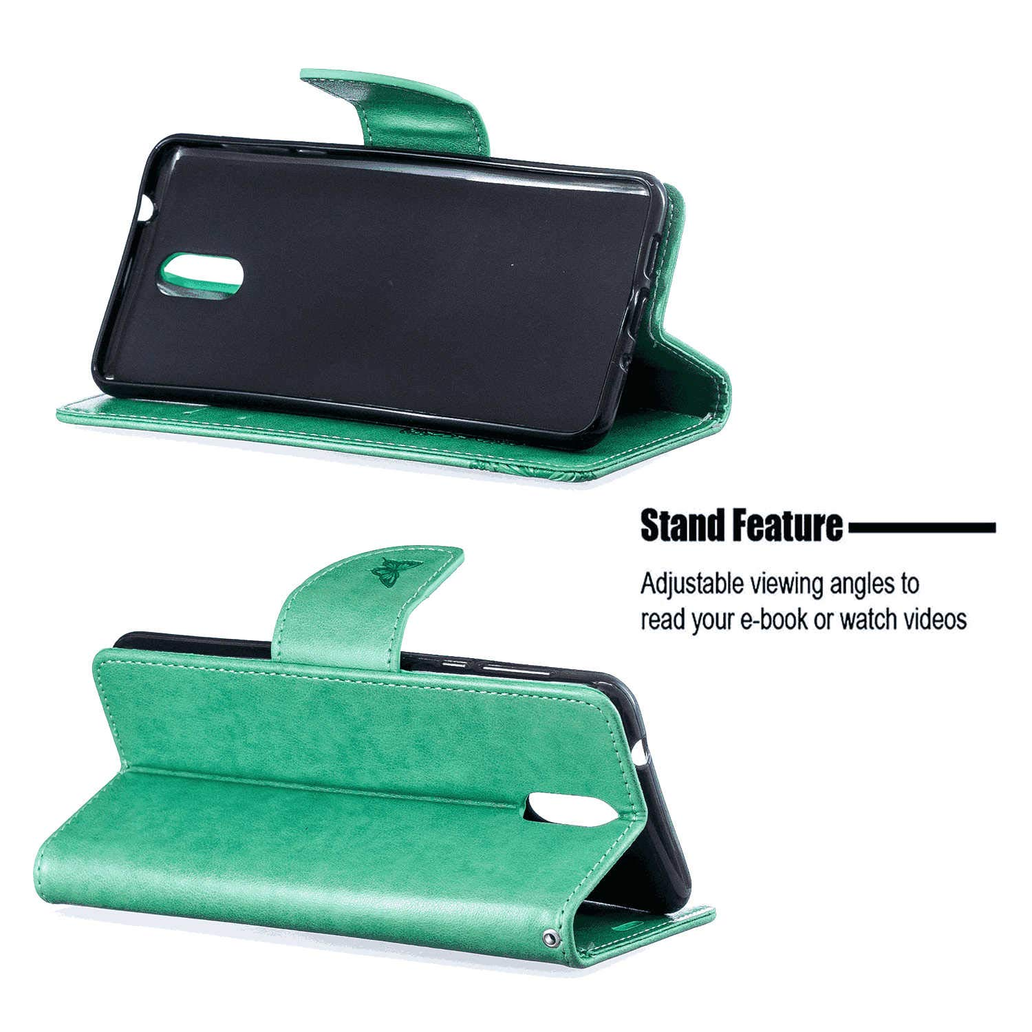 iPhone 11 Pro Flip Case Cover for iPhone 11 Pro Leather Card Holders Wallet case Extra-Protective Business Kickstand with Free Waterproof-Bag Business