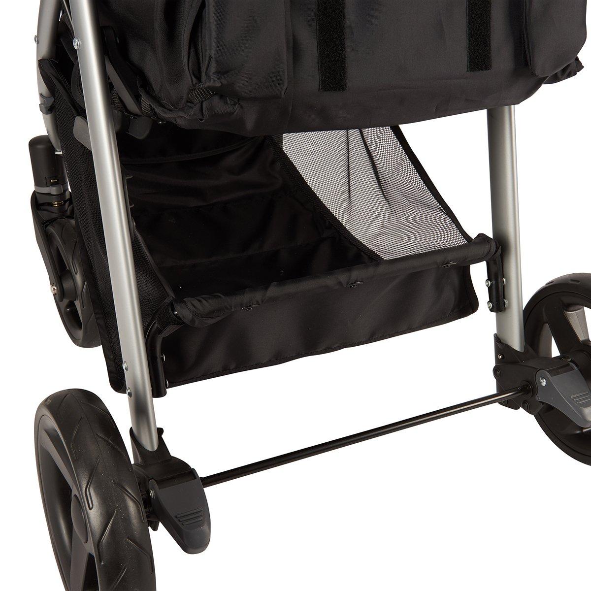 Evenflo FlipSide Travel System with LiteMax Infant Car Seat Glenbarr Grey 56422030C
