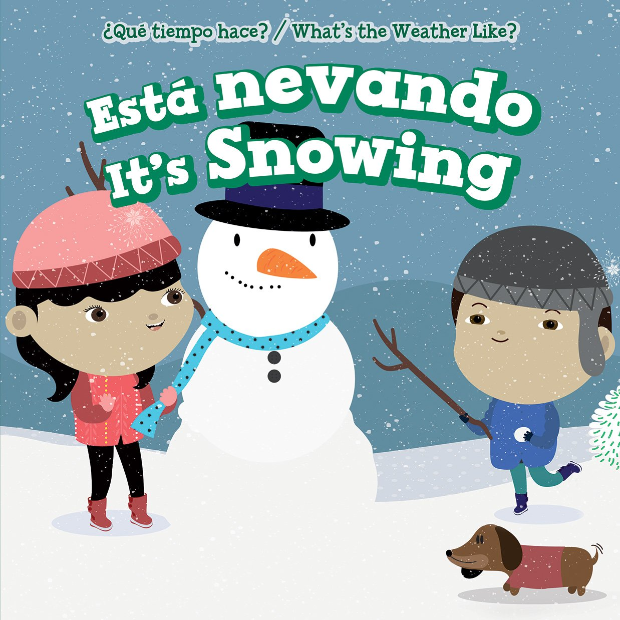 Read Online Esta Nevando / It's Snowing (Que Tiempo Hace? / What's The Weather Like?) (Spanish and English Edition) pdf epub