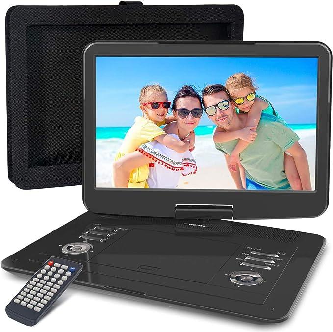 Wonnie 15 5 Zoll Tragbarer Dvd Player Mit Schwenkbarem Elektronik