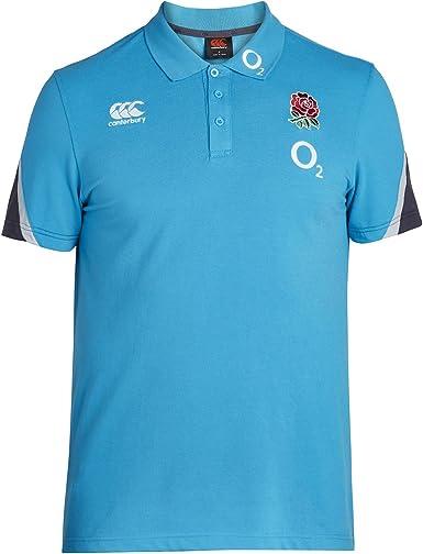 Inglaterra Rugby Camisa de algodón Pique – Polo de Entrenamiento ...