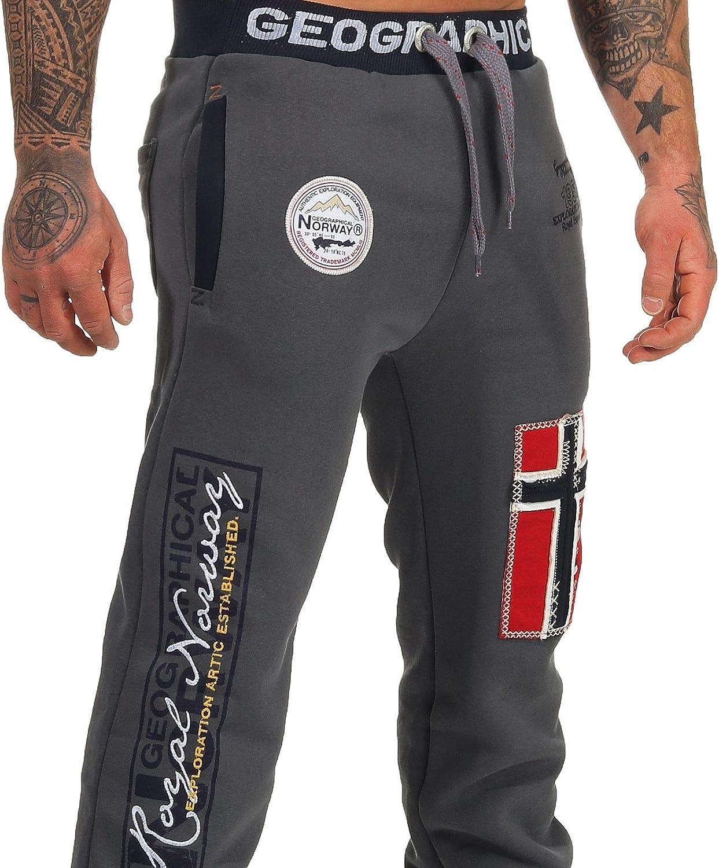 Geographical Norway Myer Pantaloni da Jogging da Uomo Ideali per Il Tempo Libero