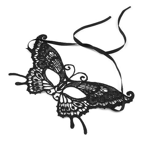Lookie K-27 1 unids Sexy Mujeres Mariposa Fiesta Cara Máscara de Maquillaje de Encaje