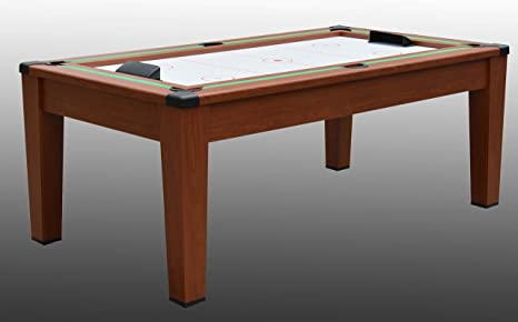 NG Biliardi Mesa de Billar Convertible en Mesa – póker – Air Hockey – Ping Pong, Daytona en 1 – r5505 – (190 cm x 100 cm x 82 cm) – Papel