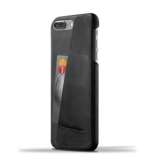 official photos 5f47d c2ff2 Amazon.com: Mujjo Wallet Case for Apple iPhone 8 Plus / 7 Plus ...