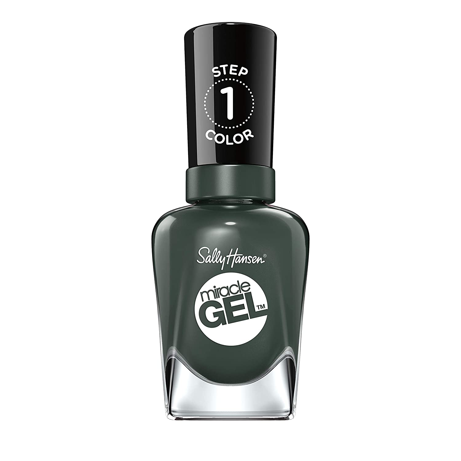 Sally Hansen Miracle Gel Nail Polish Lacquer, Leaf Me Be, 0.5 Fl. Oz.