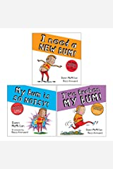 Dawn McMillan 3 Books Collection Set (My Bum is SO NOISY, I've Broken My Bum, I Need a New Bum!) Paperback