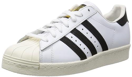 1ffe1f51402 Adidas Superstar 80s-G61070 Zapatillas Altas para Hombre  Amazon.com ...