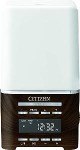 Citizen Clocks Model CC1038 SensoryTime Sensory Time Essential Oil Diffusor Wellness Clock, Alarm, Bluetooth Connection, Room Light, and USB Charging, 7 3/4