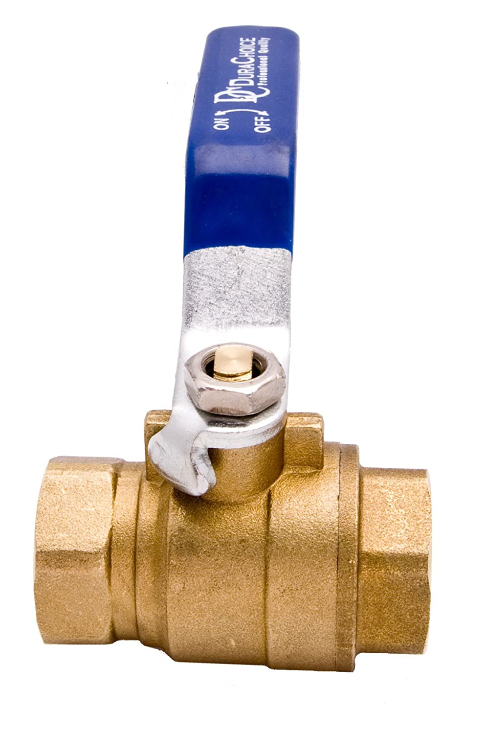3//8 Brass Ball Valve Oil Full Port 600WOG for Water and Gas with Blue Handle