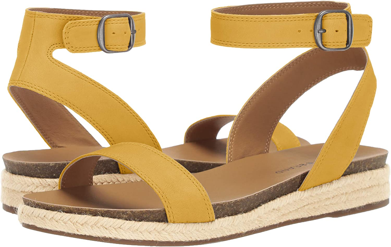 Lucky Brand Womens Garston Wedge Espadrille Wedge Sandal