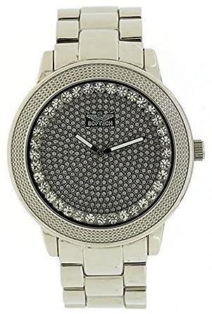 Softech Herren Uhr Diamantenbesetzt In Silber Mit Einer Extra