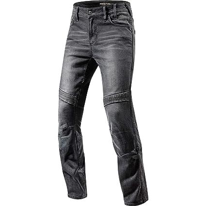Revit Moto 32 L32 - Pantalones vaqueros para moto: Amazon.es ...