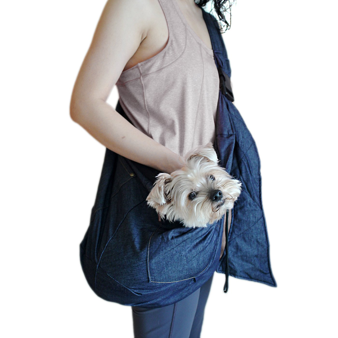 Alfie Pet by Petoga Couture - Jayme Pet Sling Carrier with Adjustable Strap