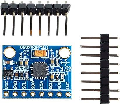 3 Axes Module Accéléromètre Gy-521 MPU-6050 Module 3 Axe gyro