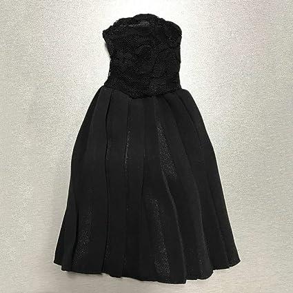 1//6 Female Package Hip Skirt Dress/&High Heels for 12/'/' Hot Toys Kumik Body
