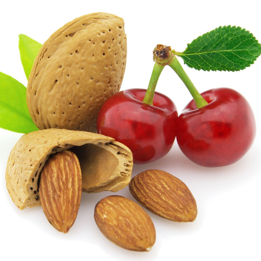 CHERRY ALMOND FRAGRANCE OIL - 16 OZ/1 LB - FOR CANDLE & SOAP MAKING BY VIRGINIA CANDLE SUPPLY WITH WITHIN USA