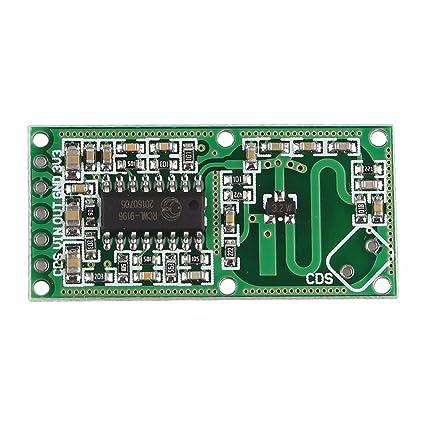 Muy práctico RCWL-0516 radar de microondas Módulo del sensor de movimiento del cuerpo humano
