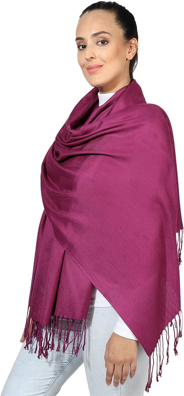 World of Shawls Super Soft Pashmina Shawl Scarf Wrap