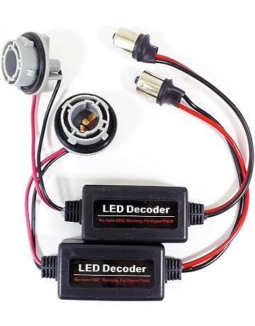 Genssi 1156 Socket Warning Error Canceller Error Free Load Resistor LED Bulb Decoder (Pair)